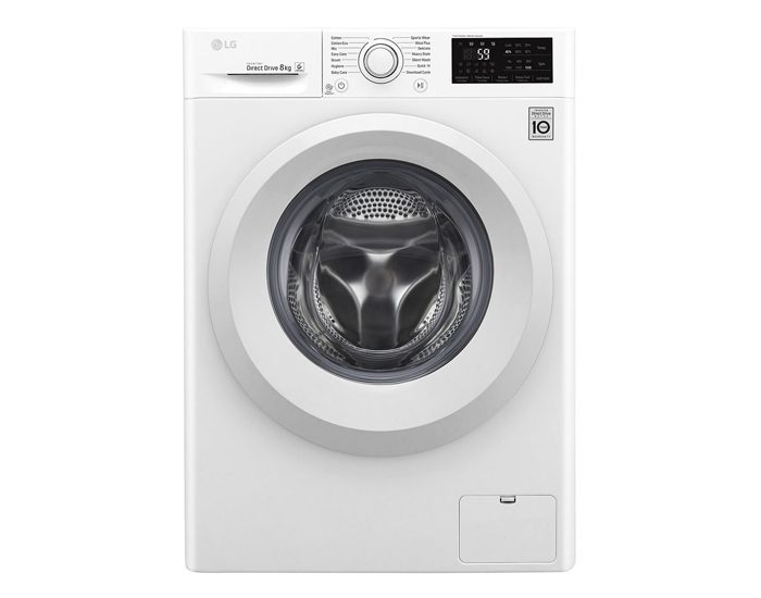 LG WD1208TC4W 8kg Front Load Washer
