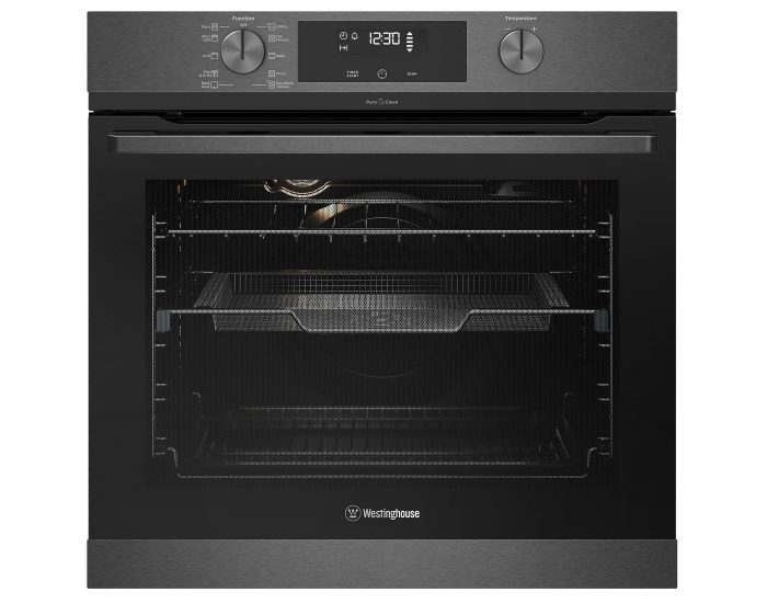 Westinghouse WVEP617DSC 60cm Multi-Function Dark Stainless Steel Oven With AirFry, Easy Bake +Steam, SteamAssist Clean And PyroClean Main