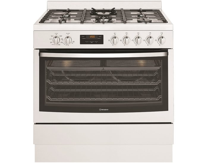Westinghouse WFE914SB 90cm Dual Fuel Freestanding Cooker