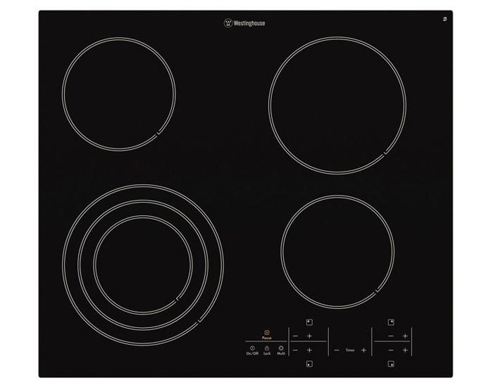 Westinghouse WHC644BA 60cm Ceramic Cooktop