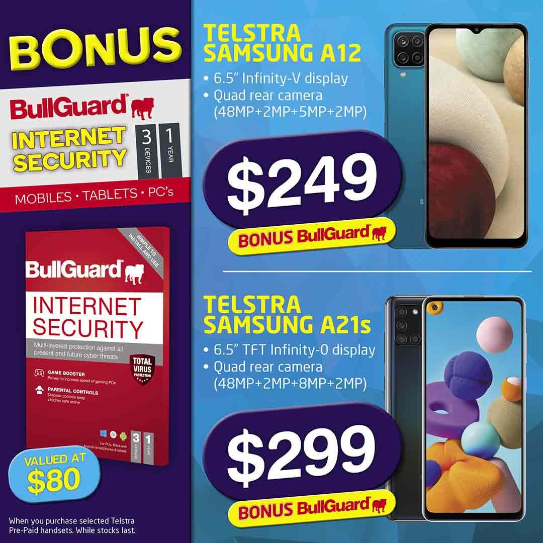2021 Telstra Samsung Bull Guard Mobile