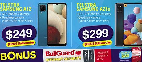 2021 Telstra Samsung Bull Guard slider