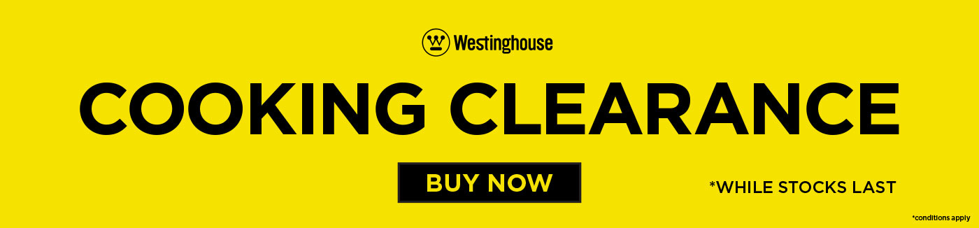 Westinghouse Cooking Clearance 1