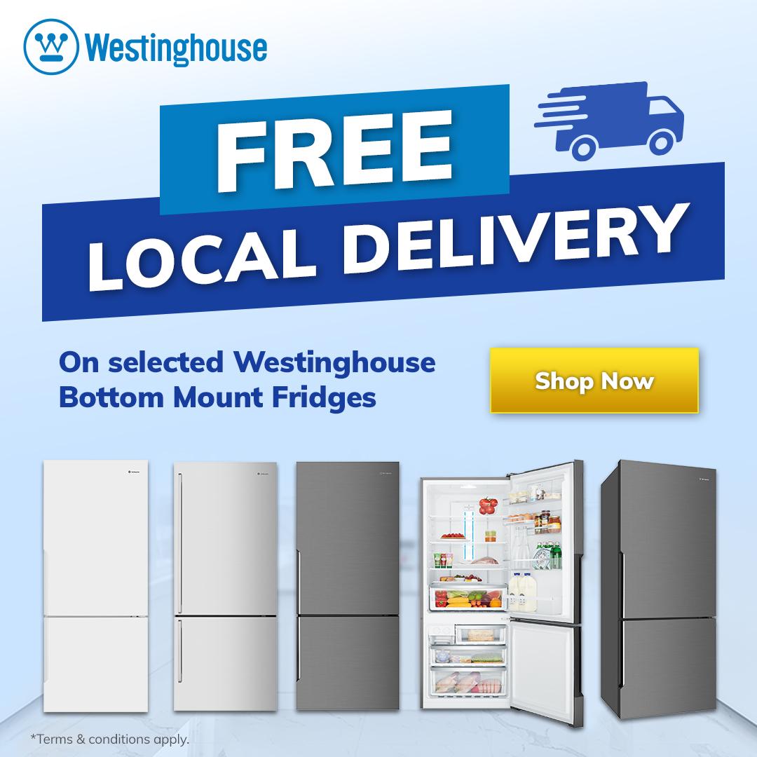2021 Westinghouse Bottom Mount Fridge Free Delivery Mobile