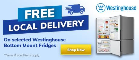 2021 Westinghouse Bottom Mount Fridge Free Delivery