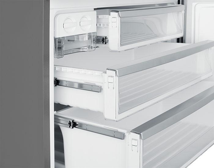 Westinghouse WBE5300BBR 528L Dark Stainless Steel Bottom Mount Refrigerator Freezer Drawer