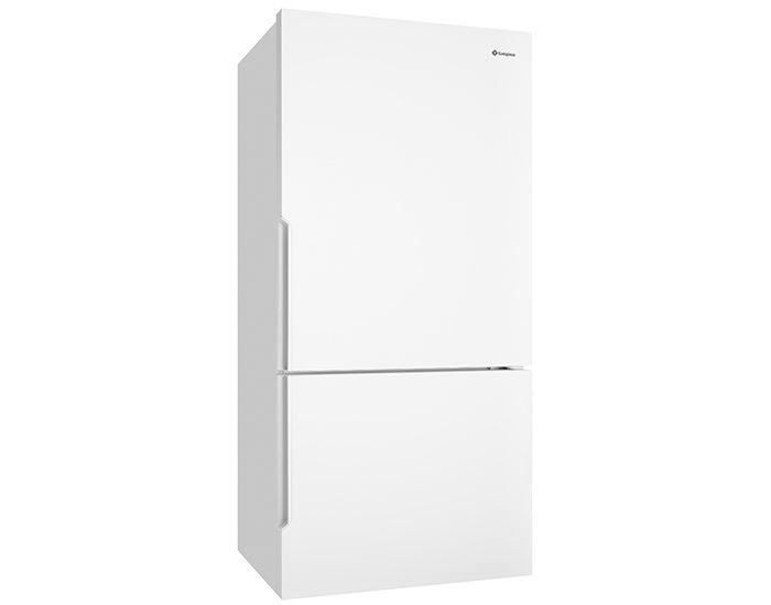 Westinghouse WBE5300WBR 528L white Bottom Mount Refrigerator Angle