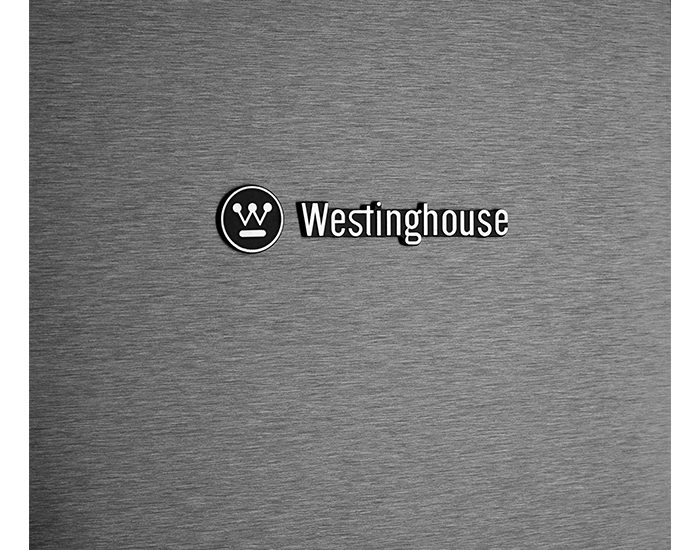 Westinghouse WBE5304BBR 528L Dark Stainless Steel Bottom Mount Refrigerator Logo