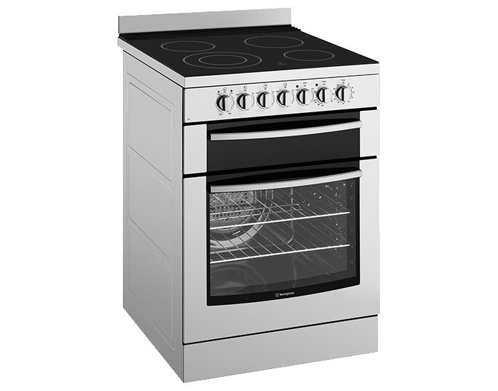 Westinghouse WFE647SA Stainless Steel 60cm Electric Freestanding Stove Hero