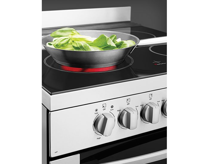Westinghouse WFE647SA Stainless Steel 60cm Electric Freestanding Stove Zone