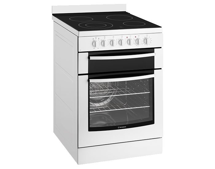 Westinghouse WFE647WA White 60cm Electric Freestanding Stove Main