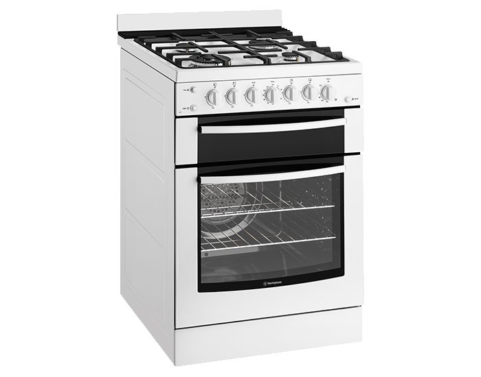 Westinghouse WFG617WANG White 60cm Gas Freestanding Stove