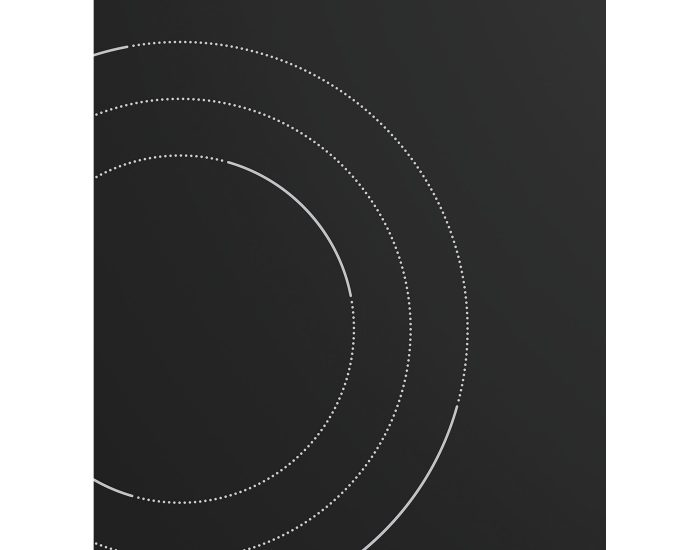 Westinghouse WHC933BC 90cm Ceramic 3 Zone Cooktop plate