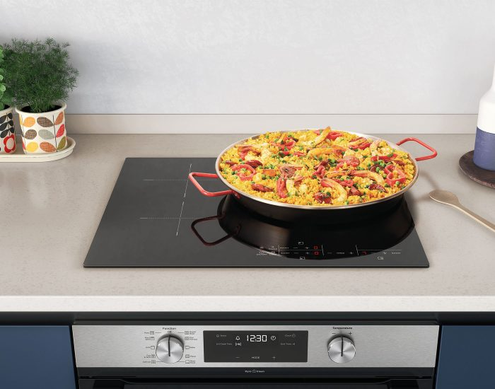 Westinghouse WHI633BC 60cm 3 Zone Induction Cooktop Lifestyle