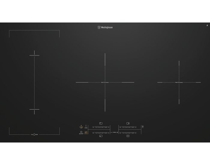 Westinghouse WHI945BC 90cm Induction Cooktop with Boil Protect Main