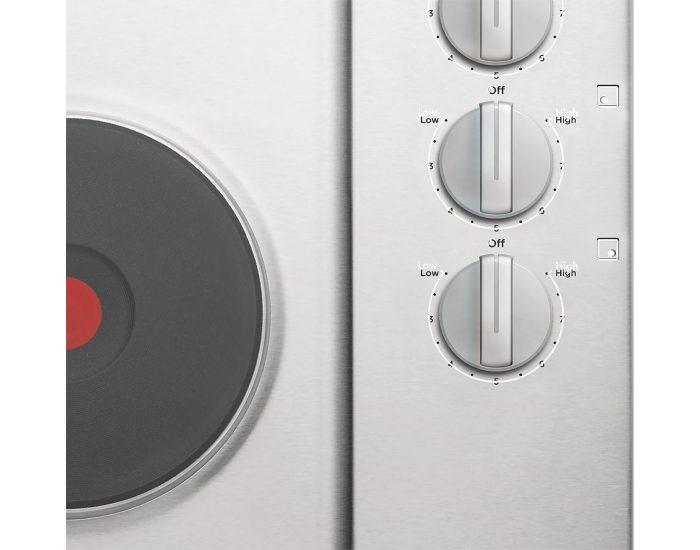Westinghouse WHS642SC 60cm Electric Solid Cooktop Controls