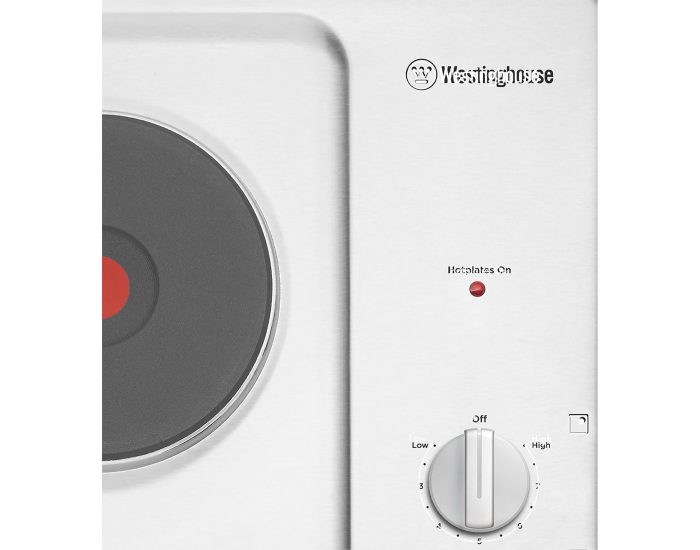Westinghouse WHS642SC 60cm Electric Solid Cooktop Knobs