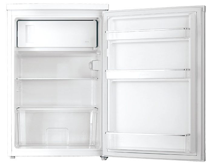 Westinghouse WIM1200WD White 124L Bar Fridge Open