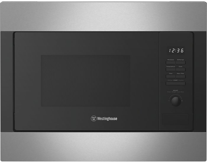 Westinghouse WMB2522SC 25L Built in Stainless Steel Microwave Main