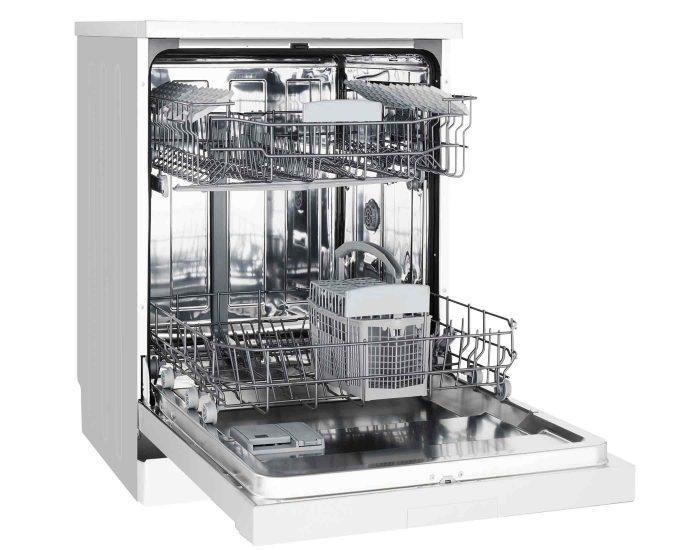 Westinghouse WSF6606XA 15 Place Setting Freestanding Dishwasher open