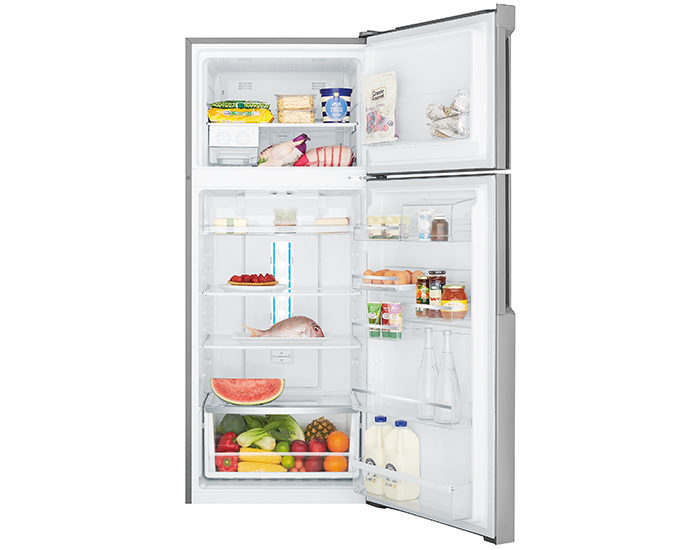 Westinghouse WTB4600SBR 460L Stainless Steel Top Mount Refrigerator Open Full
