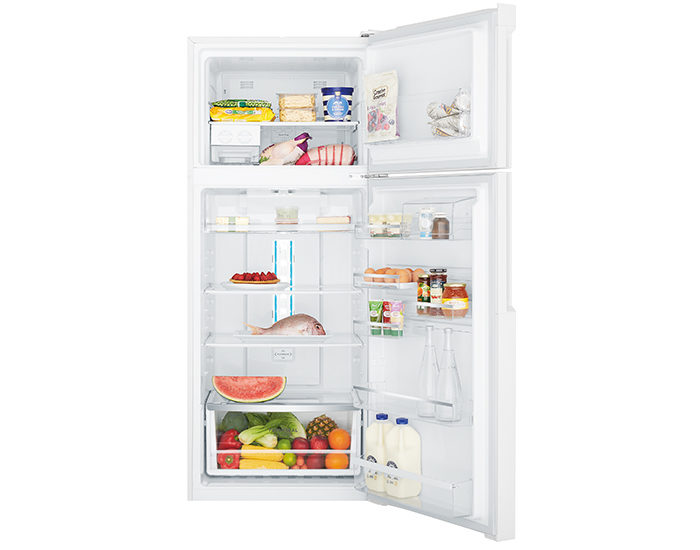 Westinghouse WTB4600WBR 460L Frost Free Top Mount Refrigerator Open