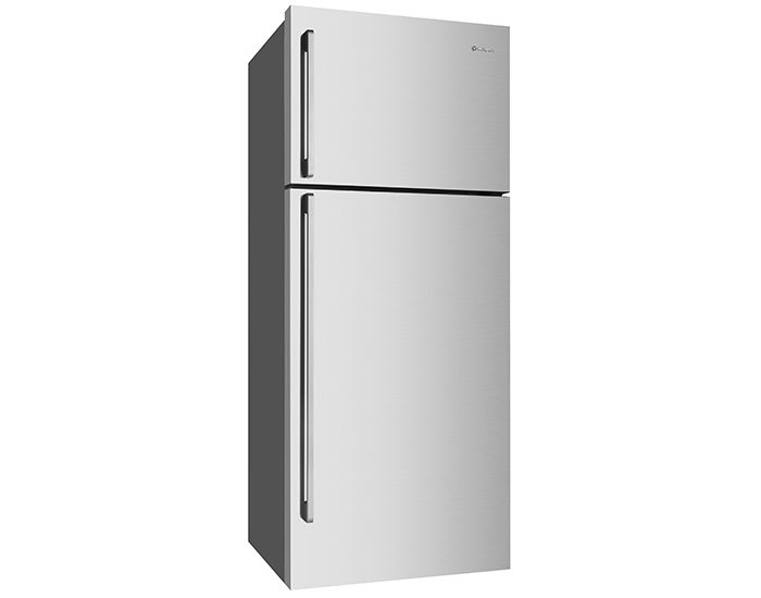 Westinghouse WTB4604SBR 460L Stainless Steel Frost Free Top Mount Refrigerator Angle