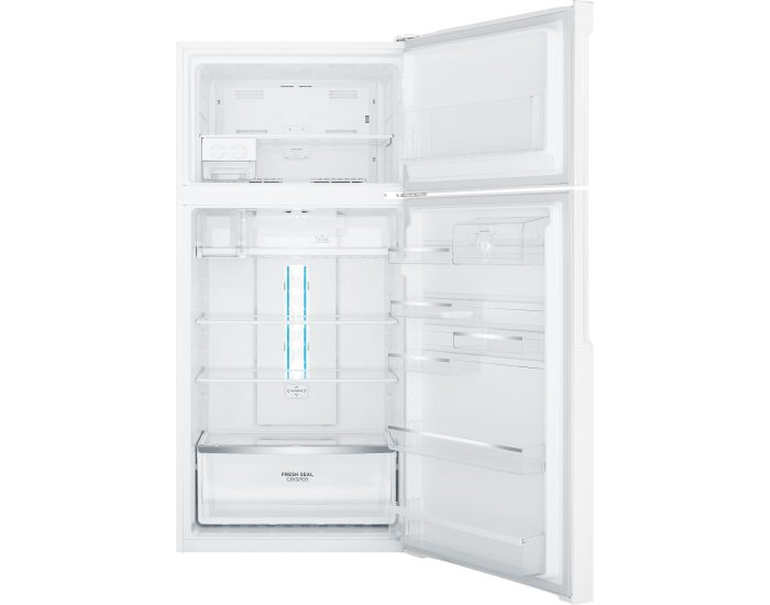Westinghouse WTB5400WCR 536L White Frost Free Top Mount Refrigerator open