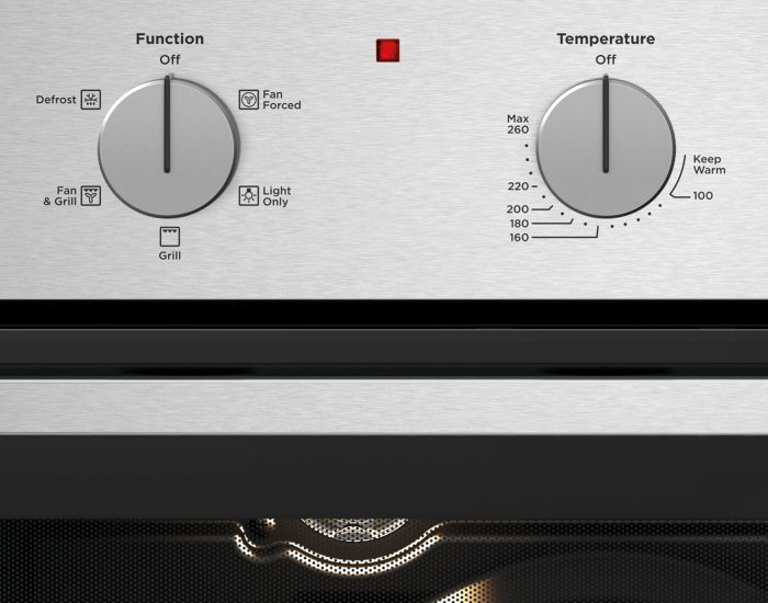 Westinghouse WVE614SC 60cm Multi-Function Stainless Steel Oven Controls