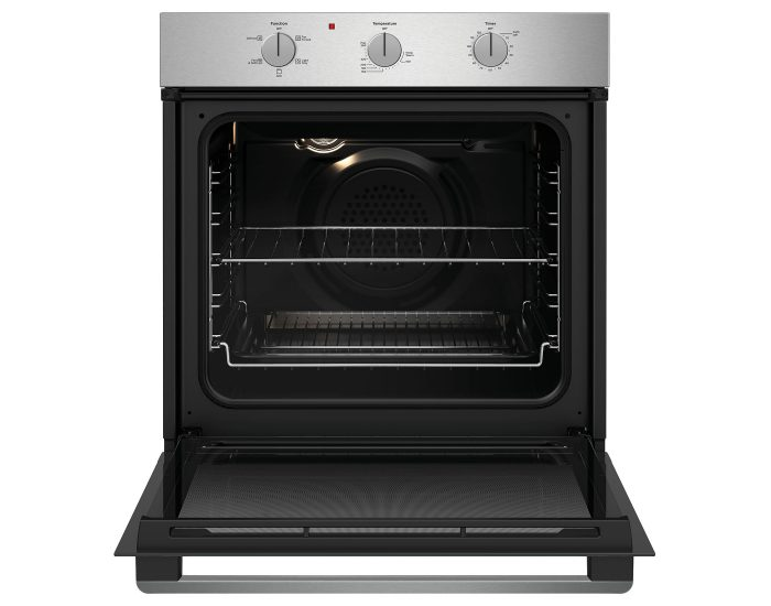 Westinghouse WVE614SC 60cm Multi-Function Stainless Steel Oven Open