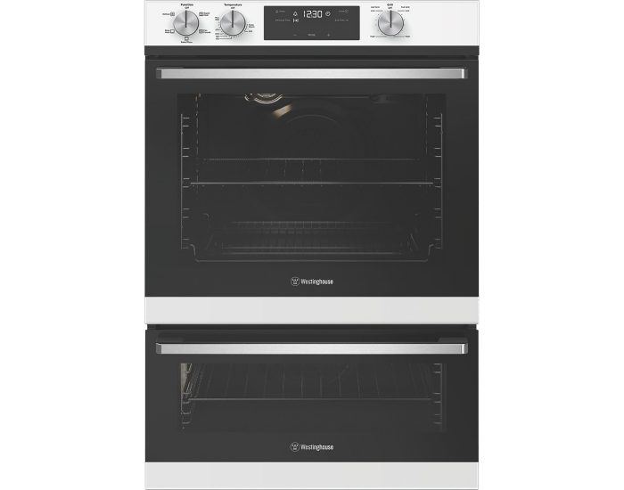 Westinghouse WVE665WC 60cm Built in Multifunction Double Oven with Separate Grill Main