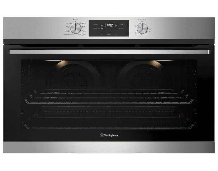 Westinghouse WVE915SC 90cm Multi-Function Stainless Steel Oven With Twin Fan System Main