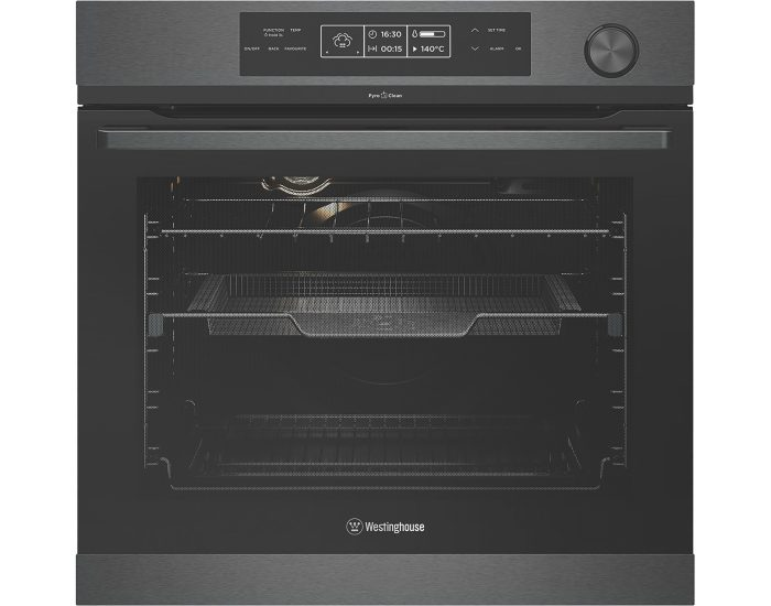 Westinghouse WVEP618DSC 60cm Multi Function Pyrolytic Oven with Steam Assist Cooking Main