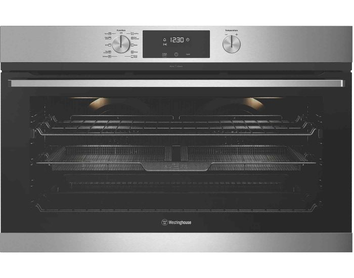 Westinghouse WVEP916SC 90cm multi-function pyrolytic oven with AirFry main