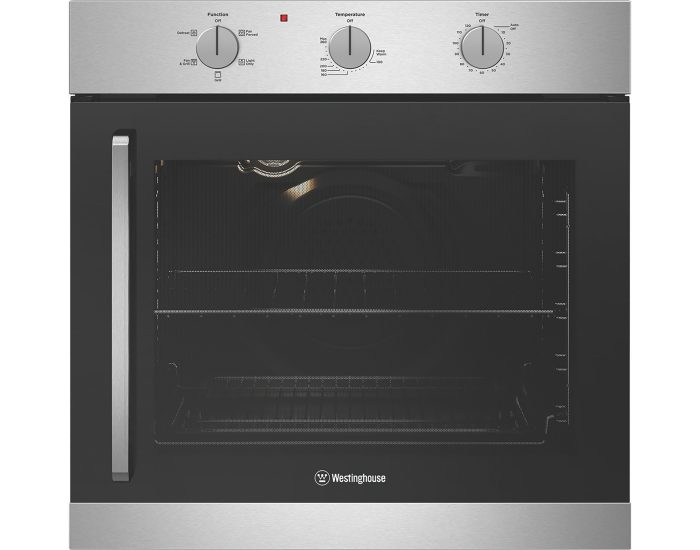 Westinghouse WVES613SCR 80L Built in Multifunction Oven main