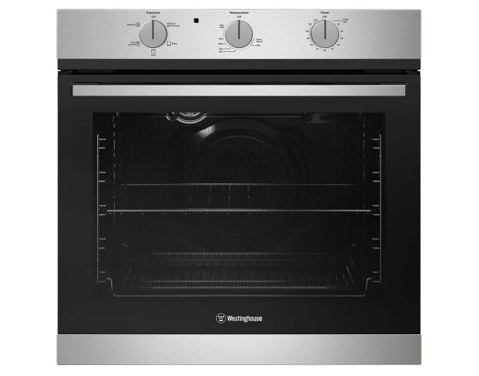 Westinghouse WVG613SCLP 60cm Built In Multifunction Gas Oven 80L Main