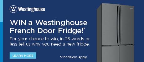 Win Westinghouse Fridge slider