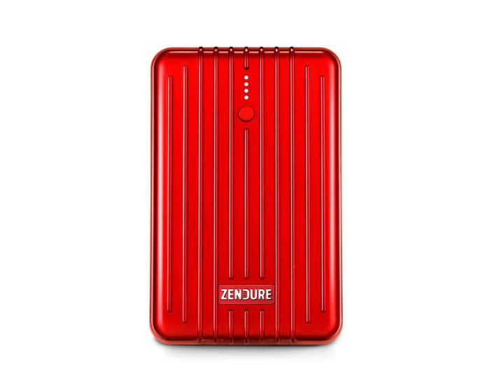 Zendure 245689 A3PD Portable Charger 10000 - Red - Main