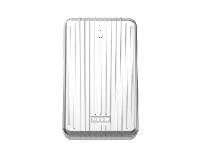 Zendure 245702 SuperTank 100W USB-C PD Portable Charger - Silver Main
