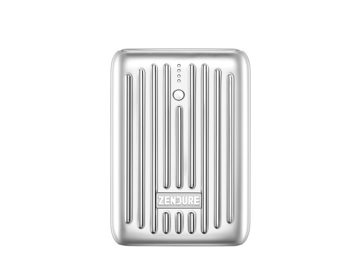 Zendure 246329 SuperMini 10000mAh USB-C PD Portable Charger - Silver Main